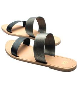 Malvados Women's Azalea Double Strap Slide Sandal