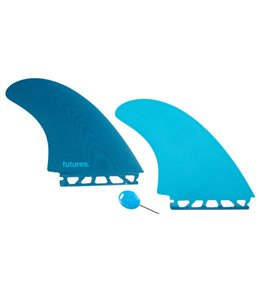 Future Fins Fiberglass EN Twin Fin Set