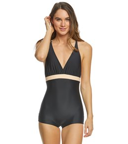 Seea Noir San-O One Piece Swimsuit