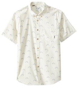 Billabong Men's Sundays Mini Short Sleeve Tailored Woven Top