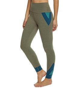Beyond Yoga Block And Key High Waisted Midi Yoga Leggings