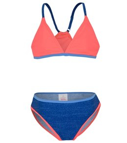 Platypus Australia Girls' Bralette Bikini Set (Little Kid, Big Kid)