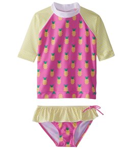Platypus Australia Girls' Short Sleeve Sunshirt (Little Kid, Big Kid)