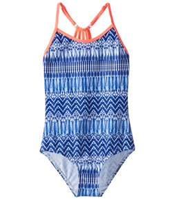 Platypus Australia Girls' Web Back One Piece Swimsuit (Big Kid)