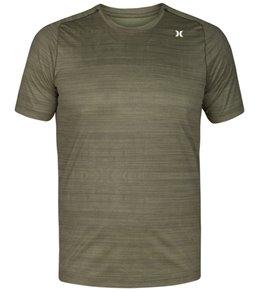 Hurley Men's Quick Dry Icon Print Short Sleeve Surf Shirt