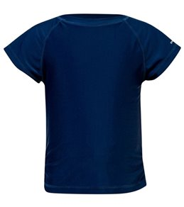 Snapper Rock Girls' Short Sleeve Rash Guard Top (Toddler, Little Kid, Big Kid)