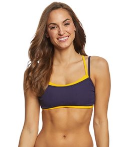 Nautica Double Layer Cross Back Bikini Top