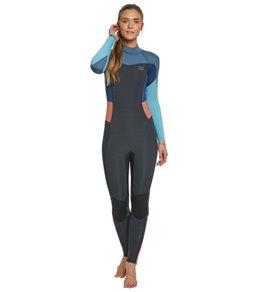 Billabong Women's 3/2MM Synergy Back Zip Fullsuit