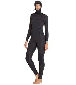 Billabong Women's 5/4/3MM Synergy Chest Zip Hooded Fullsuit