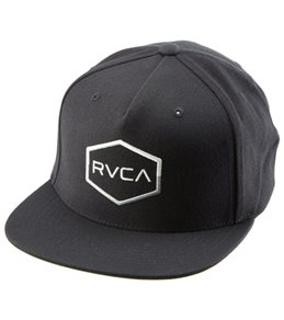 RVCA Men's Commonwealth III Snapback Hat