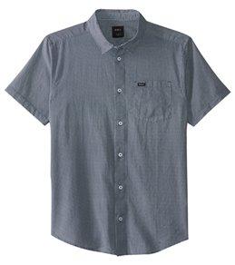RVCA Men's No Name Short Sleeve Shirt