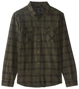 RVCA Men's Treets Long Sleeve Shirt