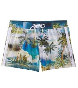 Sauvage Tahiti Palms Swim Trunks