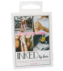 Inked by Dani Black and White Temporary Swim Tattoo Pack