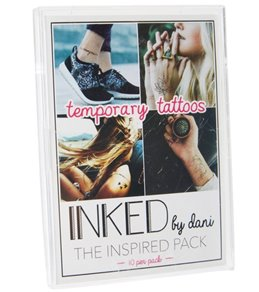 Inked by Dani Inspired Temporary Swim Tattoo Pack