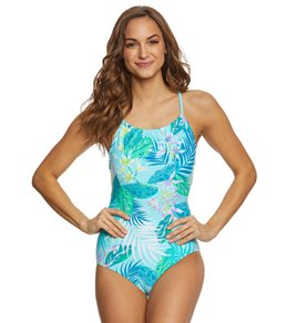 Beach House Palm Tropical Madison One Piece Swimsuit
