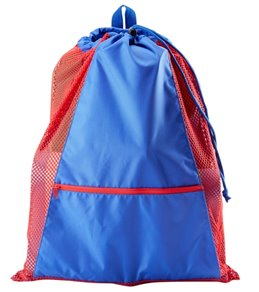bdd59fc07c4 Sporti Premium Color Block Mesh Backpack