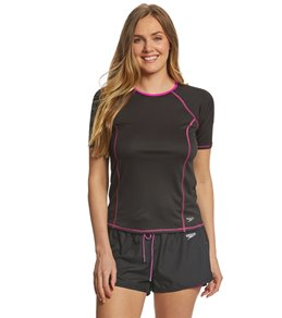 Speedo Women's Short Sleeve Swim Tee