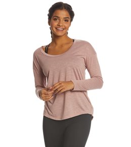Balance Collection Micah Long Sleeve Open Back Tie Top