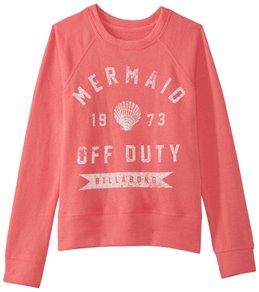 Billabong Girls' Whole Hearted Sweatshirt (Little Kid, Big Kid)