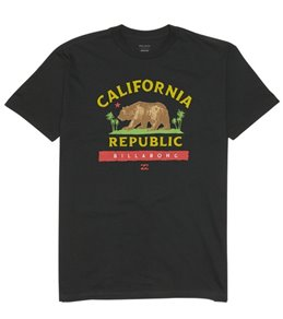 Billabong Boys' Cali Bear Short Sleeve Tee Shirt (Big Kid)
