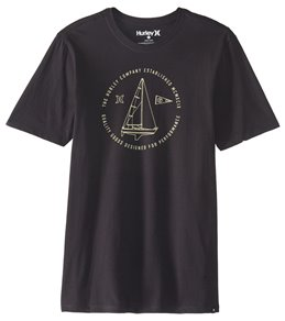 Hurley Men's JJF Sailing Short Sleeve Pocket Tee