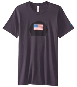 USA Swimming National Team Short Sleeve Swim Cap Tee