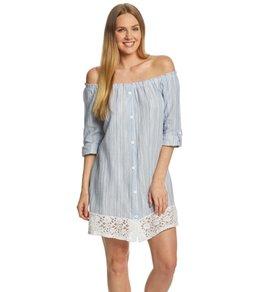 1022a49d22 Dotti Resort Stripe Shirt Dress
