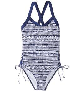 256901a28981c Splendid Girls  Nautical One Piece Swimsuit (Big ...