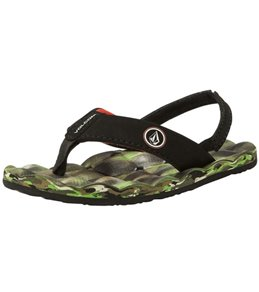 Volcom Boys' Recliner Sandal (Little Kid)