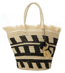 Pia Rossini Bermuda  Straw Tote Bag