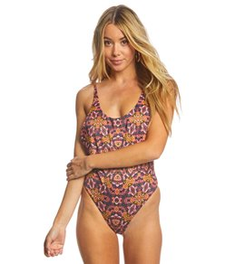 Billabong Sun Tribe Reversible One Piece Swimsuit