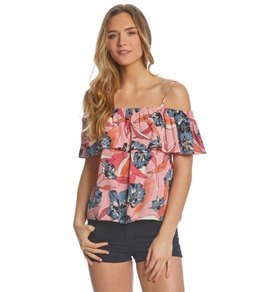 Billabong Summer Sunsets Off Shoulder Top
