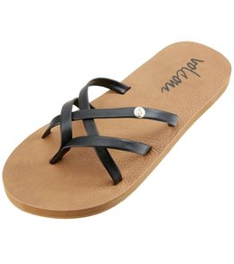 Volcom Girls' New School Sandal (Little Kid, Big Kid)