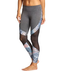 1d38d42038f50 Pink Lotus Movement Attack 7/8 Yoga Leggings