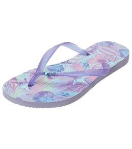 b103ceb703d12f Havaianas Girls  Slim Summer Flip Flop (Toddler