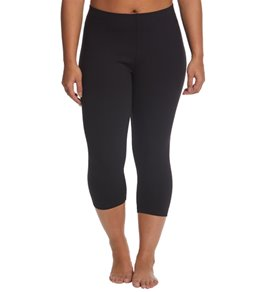 Danskin Plus Size Body Fit Yoga Capris