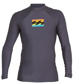 Billabong Boys' All Day Wave Long Sleeve Rashguard