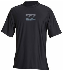 Billabong Men's All Day Wave Short Sleeve Rashguard