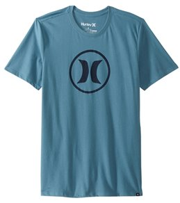 Hurley Men's Circle Icon Dri-FIT Sleeve Tee