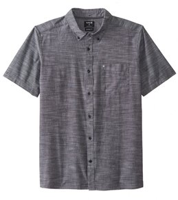 Hurley Men's One & Only 2.0 Short Sleeve Woven Shirt