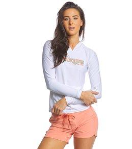 9b54fe823f0 Dakine Women's Flow Hooded Loose Fit Long Sleeve Surf Shirt