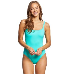 a713e0fb11 Polo Ralph Lauren Modern Solid Martinique Tank One Piece Swimsuit