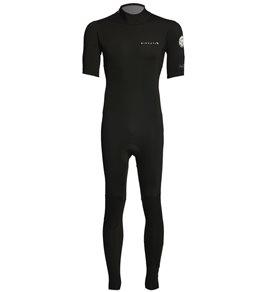 a0efb1fc9c Rip Curl Men s Aggrolite 2mm Short Sleeve Full Backzip Wetsuit