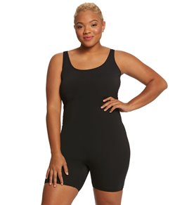 4eee9ac46861 Sporti Plus Size Lia Chlorine Resistant Scoop Back Unitard One Piece  Swimsuit