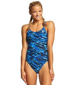 티어 여성 수영복 강습용 원피스 스윔수트 TYR Womens Miramar Cutoutfit One Piece Swimsuit
