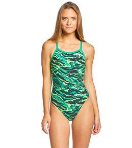 티어 여성 수영복 강습용 원피스 스윔수트 TYR Womens Miramar Diamondfit One Piece Swimsuit