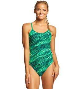 티어 여성 수영복 강습용 원피스 스윔수트 TYR Womens Plexus Cutoutfit One Piece Swimsuit