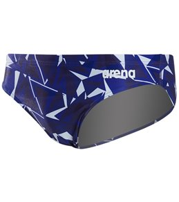 d29d8db9fdf3c in Swim Briefs. Arena Men's Shattered Glass MaxLife Brief Swimsuit