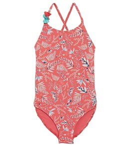 c18339669c Roxy Girls' Bali Dance One Piece Swimsuit (Toddler, ...